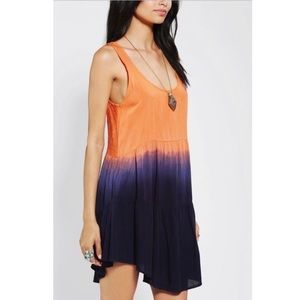 Urban Outfitters Ombre Babydoll Dress